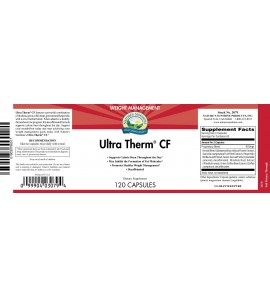 Ultra Therm™ CF (120 Caps) label