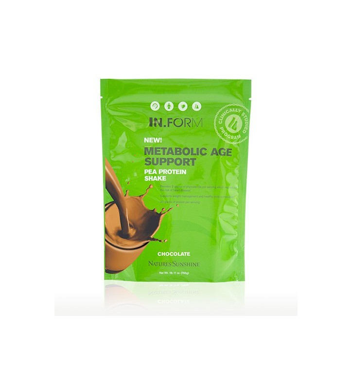 IN.FORM Metabolic Age Support Pea Protein Shake Chocolate (765 g)