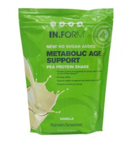 IN.FORM Pea Protein Vanilla-No Sugar Added (765 g)