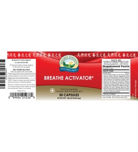 Breathe Activator TCMconcentrate (30 Caps)