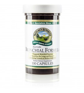 Bronchial Formula, Ayurvedic (100 Caps)