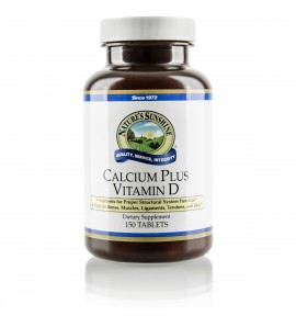Calcium Plus Vitamin D (150 Tabs)