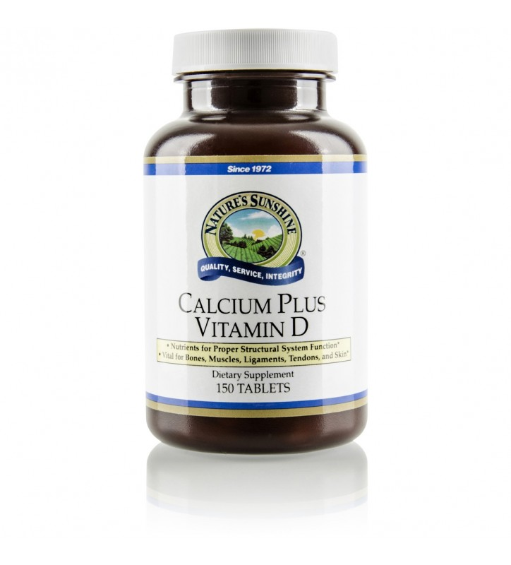 Calcium Plus Vitamin D (150 Tabs)