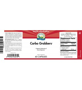 Carbo Grabbers with Chromium (60 Capsules) label