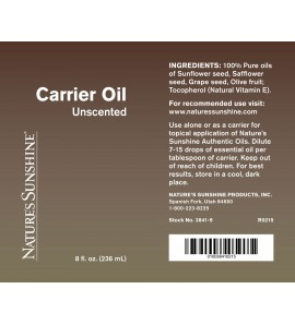 Carrier Oil (8 fl.oz.)