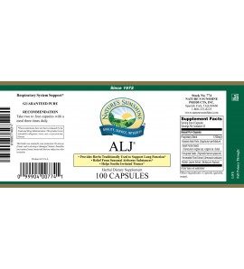 ALJ® (100 Caps) label