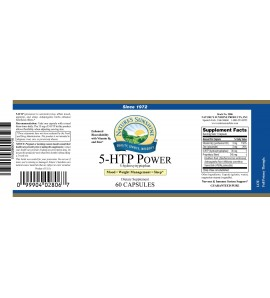 5-HTP Power (60 Caps) label
