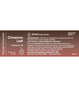 Cinnamon Leaf Essential Oil (5 ml)