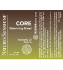 CORE Balancing Blend Roll-On (10 ml) label