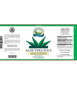 Aloe Vera Juice (32 fl. oz.)