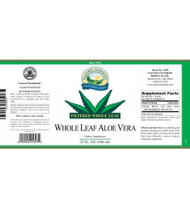 Aloe Vera, Whole Leaf (32 fl. oz.)