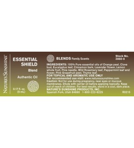ESSENTIAL SHIELD Essential Oil Blend (5 ml)