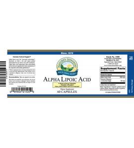 Alpha Lipoic Acid (60 Caps)