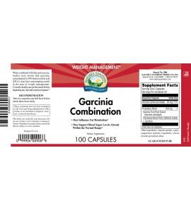 Garcinia Combination (100 Caps) label