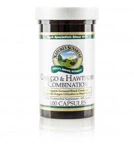 Ginkgo & Hawthorn Combination (100 Caps)