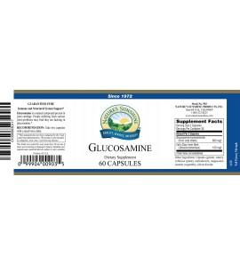 Glucosamine (60 Caps) label