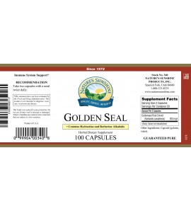 Golden Seal (100 Caps) label