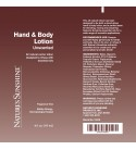 Hand & Body Lotion (6 Oz) label
