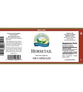 Horsetail (100 Caps) label