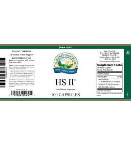 HS II® (100 Caps) label