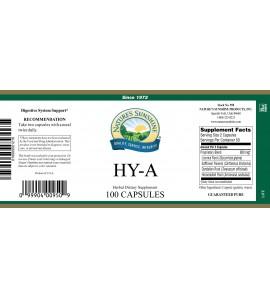 HY-A (100 Caps) label
