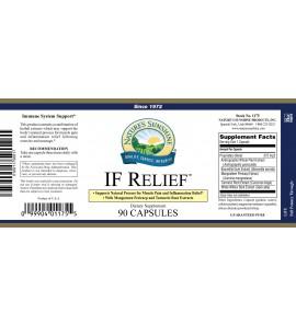 IF Relief (90 Caps) label