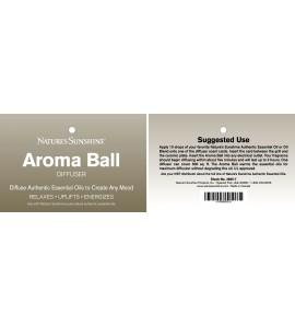 Aroma Plug-In Diffuser label