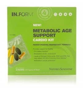 IN.FORM Metabolic Age Support Cardio Kit (30 day)