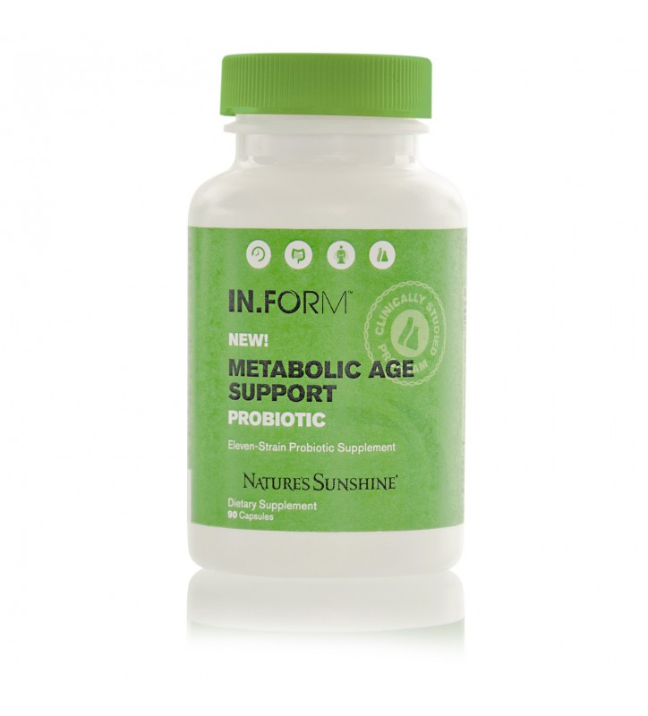 IN.FORM Metabolic Age Support Probiotic (90 Capsules)