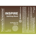 INSPIRE Uplifting Blend Roll-On (10 ml) label