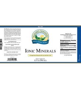 Ionic Minerals w/Acai (32 Fl Oz) label