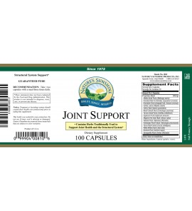 Joint Support (100 Caps) label