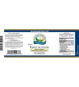 Kidney Activator ATC Conc. (50 Caps) label