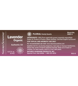 Lavender Organic Essential Oil (5 ml)