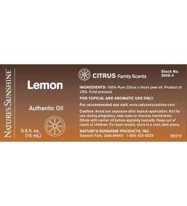 Lemon Essential Oil (15 ml)