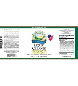 Liquid Cleanse (16 fl. oz.) label