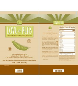 Love And Peas (675 g) label