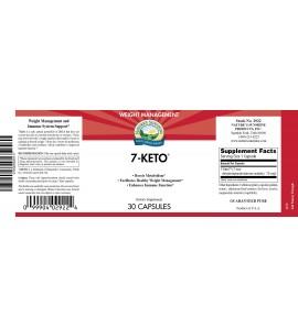 7-Keto™ (30 Caps) label
