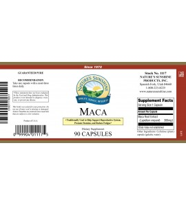 MacA (90 Caps) label