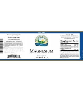 Magnesium (250 mg) (180 Tabs) label