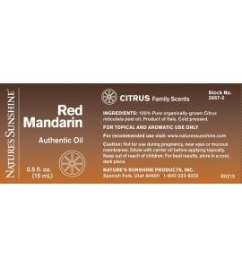 Red Mandarin Essential Oil (15 ml)