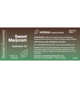 Sweet Marjoram Essential Oil (15 ml)