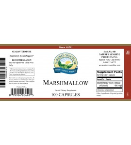 Marshmallow (100 Caps) label
