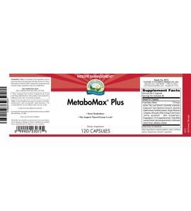 Metabomax Plus (120 Capsules) label