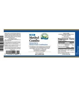 Methyl Combo (60 Caps) label