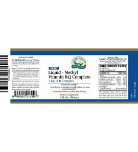 Liquid - Methyl Vitamin B-12 Complete label