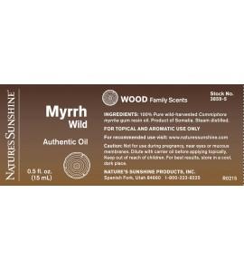 Myrrh, Wild Essential Oil (15 ml)