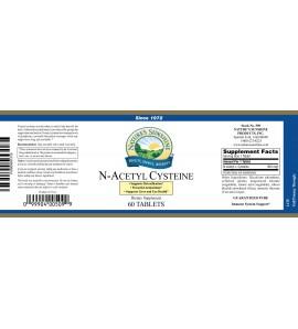 N-Acetyl Cysteine (300 mg) (60 Tabs) label