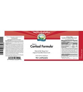 Nature's Cortisol Formula® (90 Caps) label