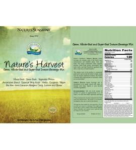 Nature's Harvest (465 g) (15 Servings) label